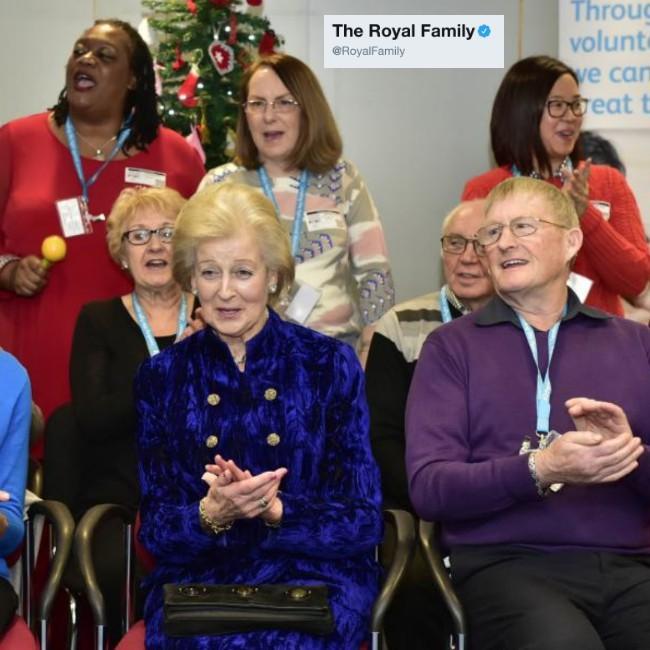 Princess Alexandra hosts Alzheimer's Society bash