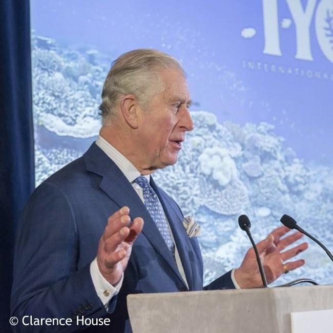Prince Charles urges preservation of coral reefs