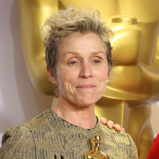 Man charged over theft of Frances McDormand's Oscar