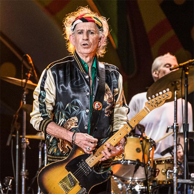 Keith Richards wishes Taylor Swift luck 'while it lasts'