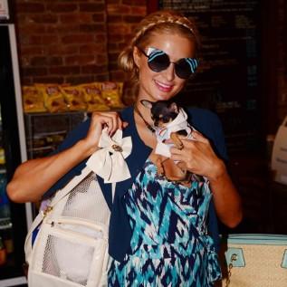 Paris Hilton is a pet lover