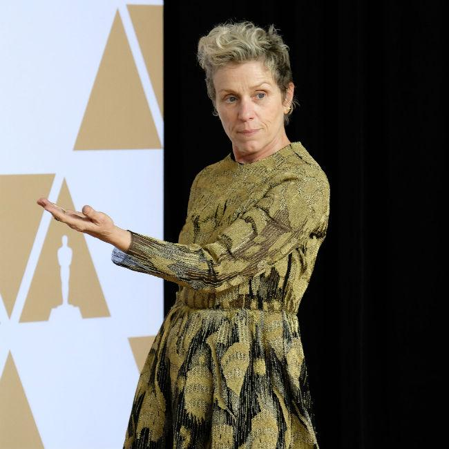 Frances McDormand calls for 'inclusion rider' at the Oscars