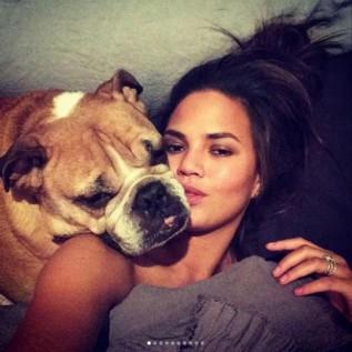 Chrissy Teigen reveals her pug's passing