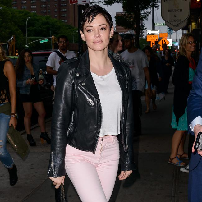 Rose McGowan says Harvey Weinstein represents 'evil'