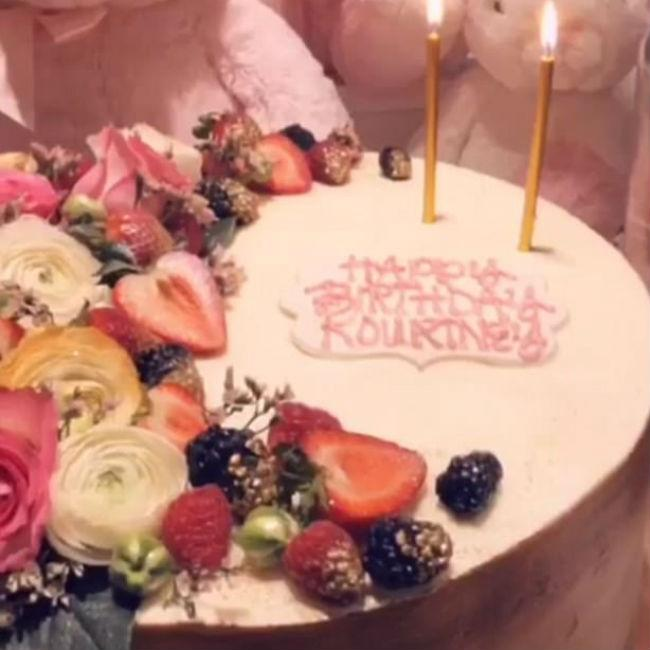Kourtney Kardashian enjoys early birthday celebration