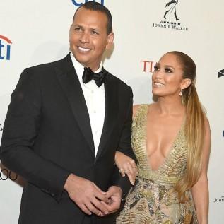 Jennifer Lopez and Alex Rodriguez look smitten