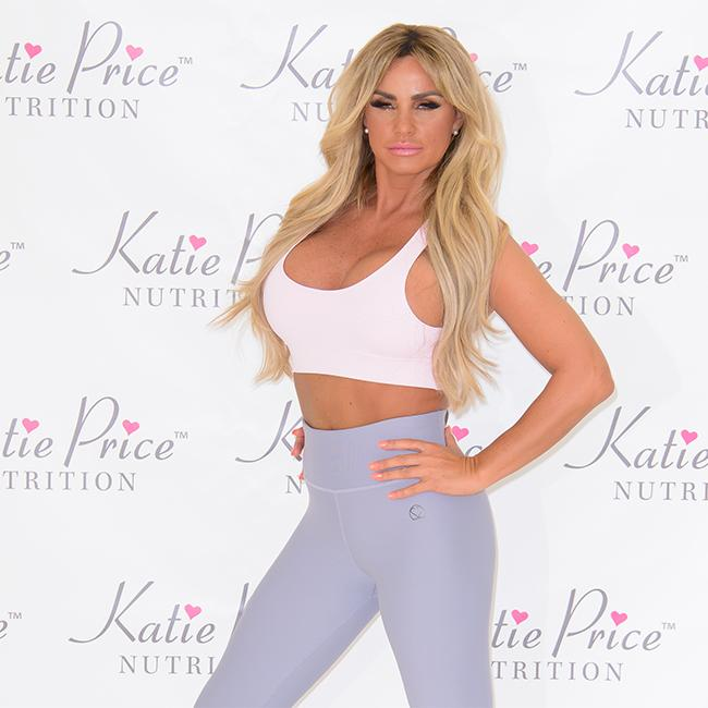 Katie Price: My boobs are stuck to my chest