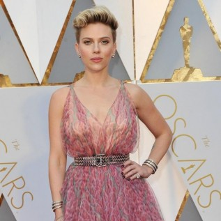 Scarlett Johansson accidentally flashed her vagina on a plane