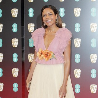 Naomie Harris needed Dwayne Johnson's support