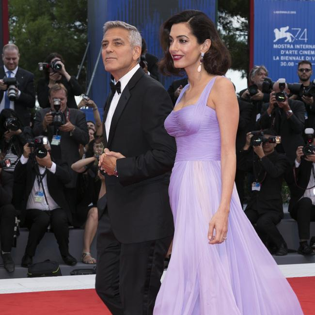 The Clooneys and the Beckhams arrive for royal wedding