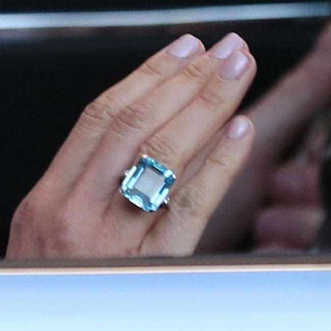 Meghan Markle wore Princess Diana's ring to reception