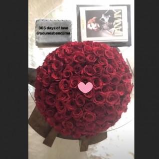 Kourtney Kardashian celebrates 1st anniversary with Younes Bendjima