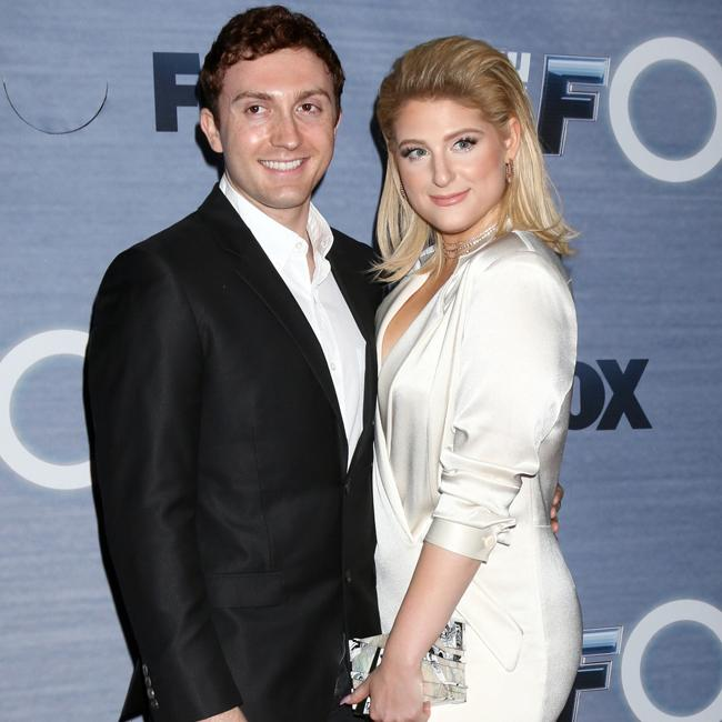 Meghan Trainor wants to 'lock' fiancé down as soon as she can