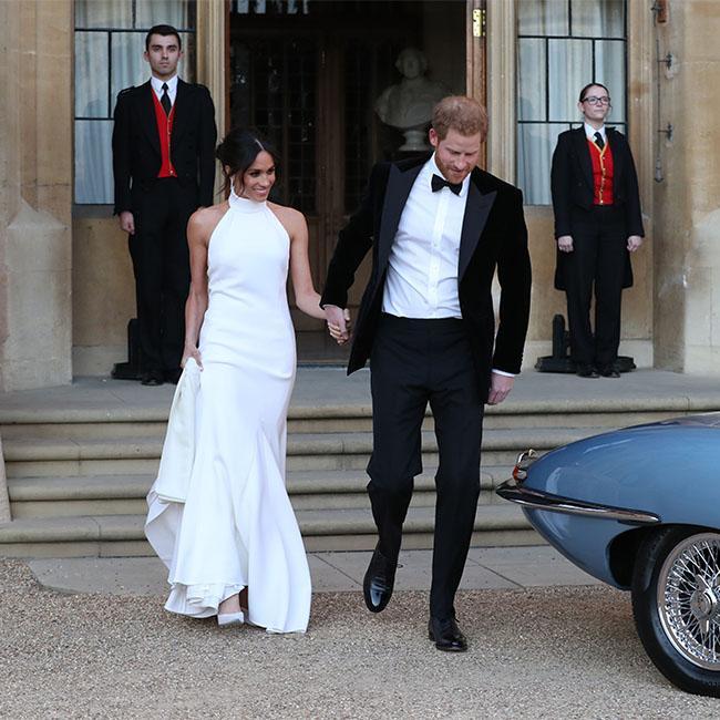 James Corden set up dance-off at royal wedding