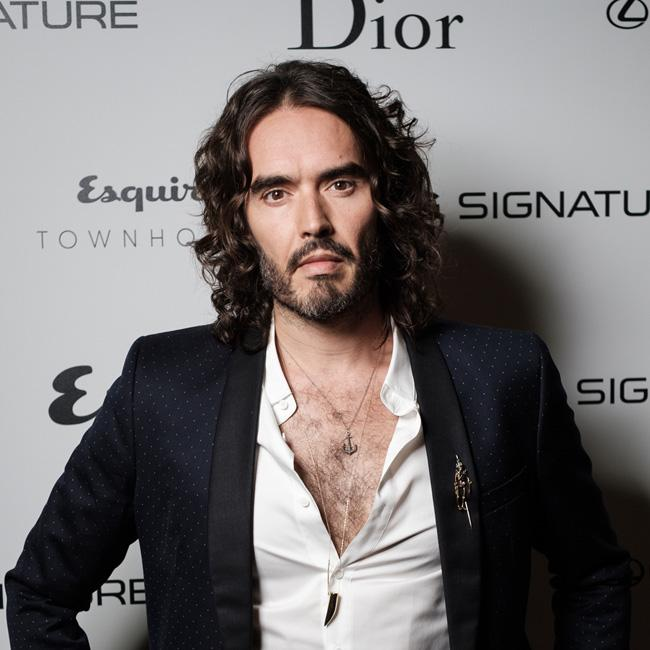 Russell Brand's mother broke her neck in car crash
