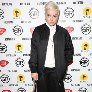 Lily Allen lost her identity