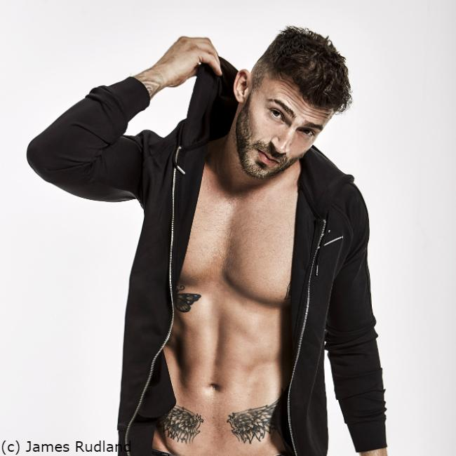 Jake Quickenden would bare all for charity
