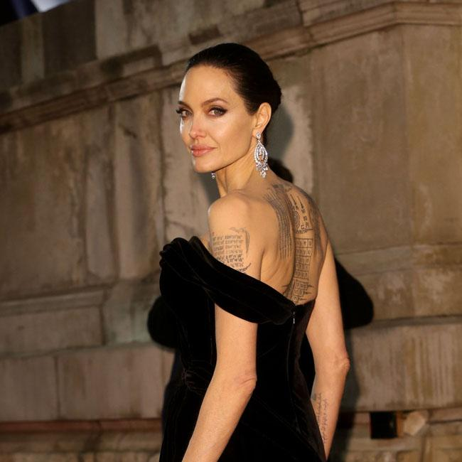 Supportive producer Angelina Jolie