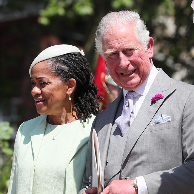 Prince Charles made reception jokes