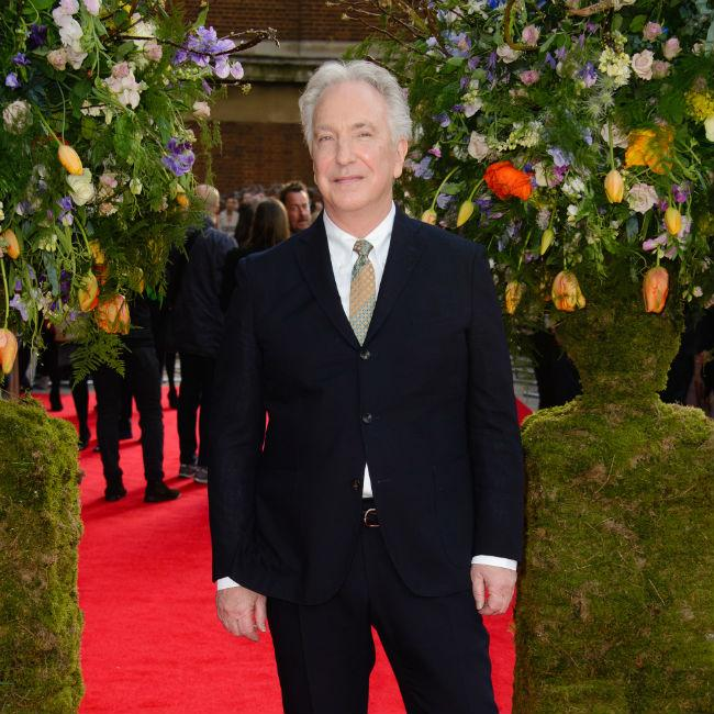 Alan Rickman's diaries, scripts and letters for sale