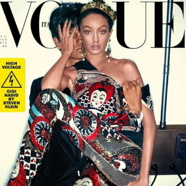 Gigi Hadid apologises for controversial Vogue cover