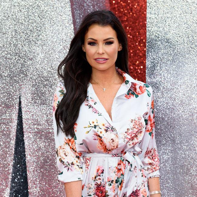 Jess Wright steps out in a floral ensemble at the Ocean's 8 London premiere