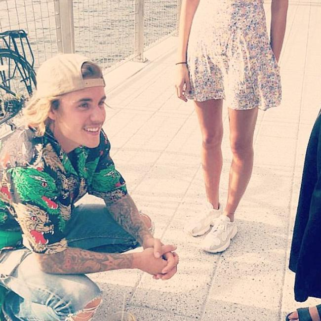 Justin Bieber and Hailey Baldwin spotted kissing in Brooklyn