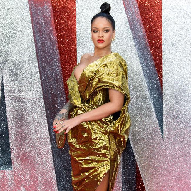 Rihanna turns heads at Ocean's 8 premiere in London