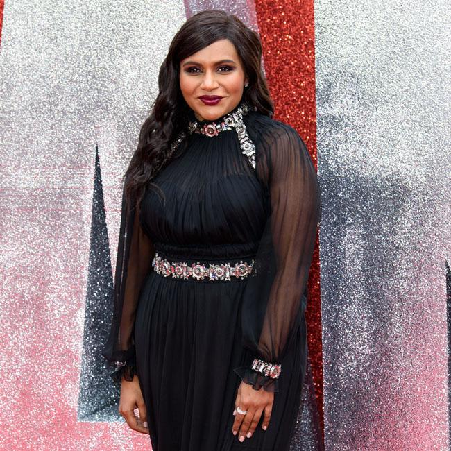 Mindy Kaling channels gothic chic on red carpet