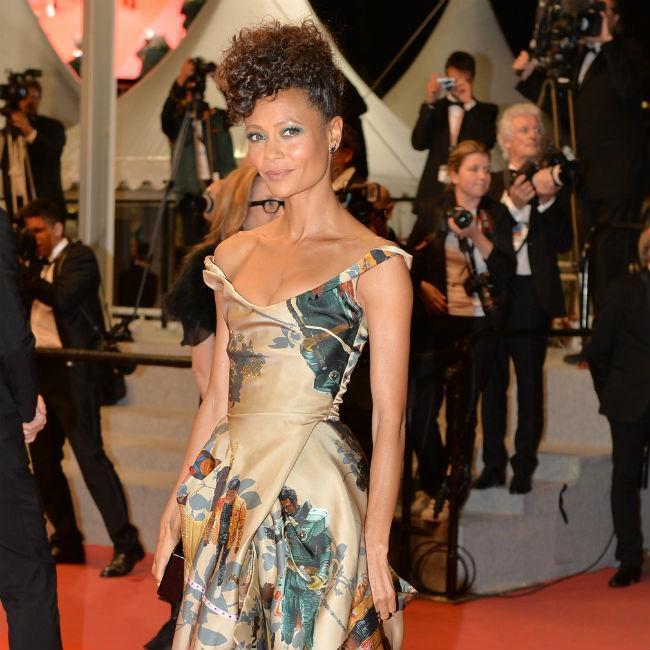 Thandie Newton uses Star Wars figure to teach kids diversity
