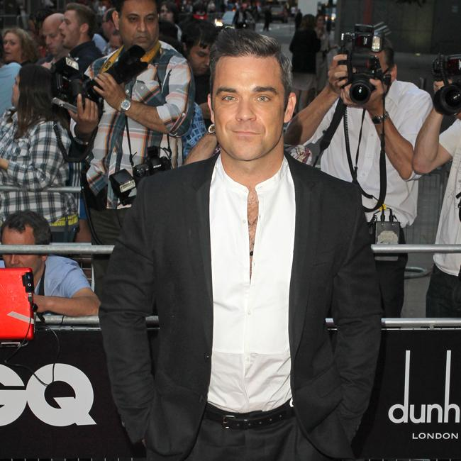 Robbie Williams hasn't signed on for X Factor – yet
