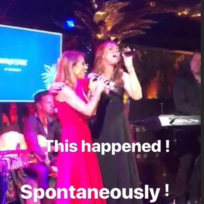Geri Horner and Mel C host mini Spice Girls reunion