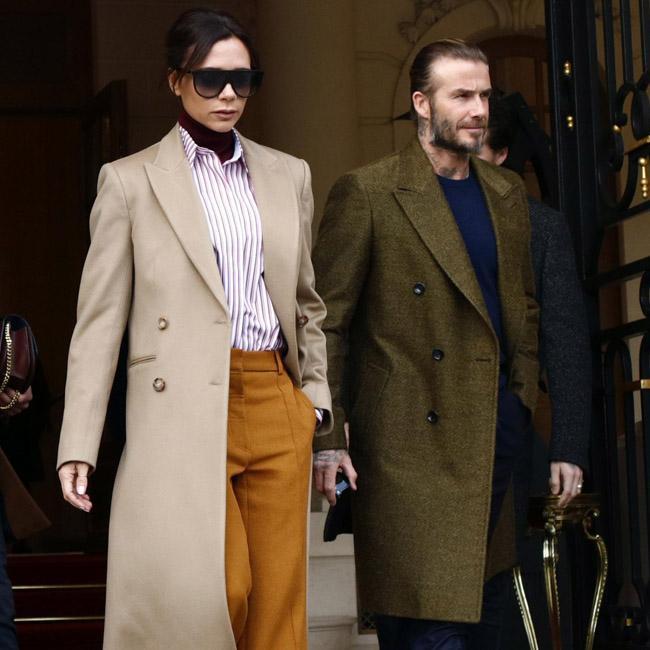 Victoria and David Beckham discovering art together
