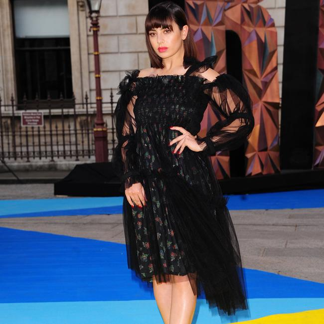 Charli XCX Channels Her Inner Chic At Royal Academy Of