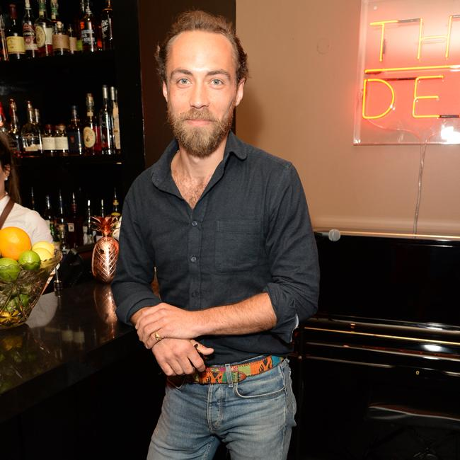 James Middleton parties with brother-in-law