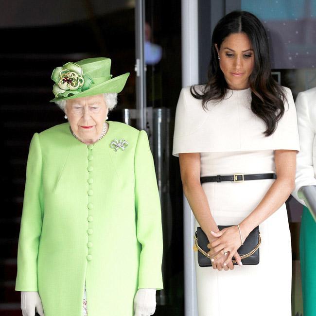 Duchess of Sussex joined Queen Elizabeth in Cheshire