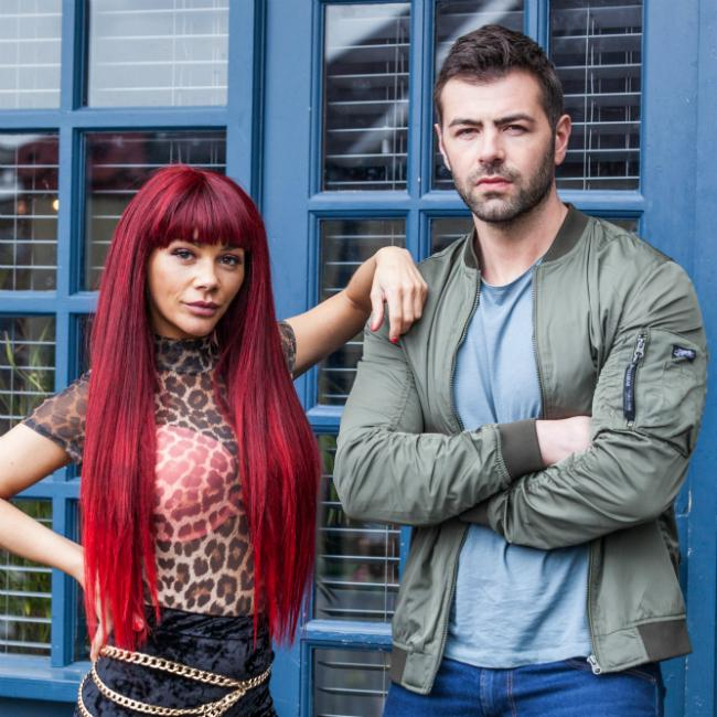 David Tag's Hollyoaks 'mess about'