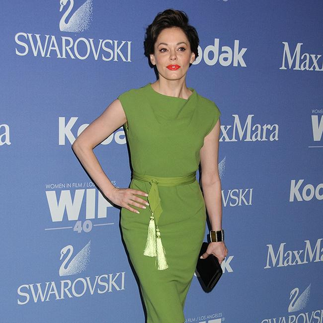 Rose McGowan got through the last year with 'sheer will'