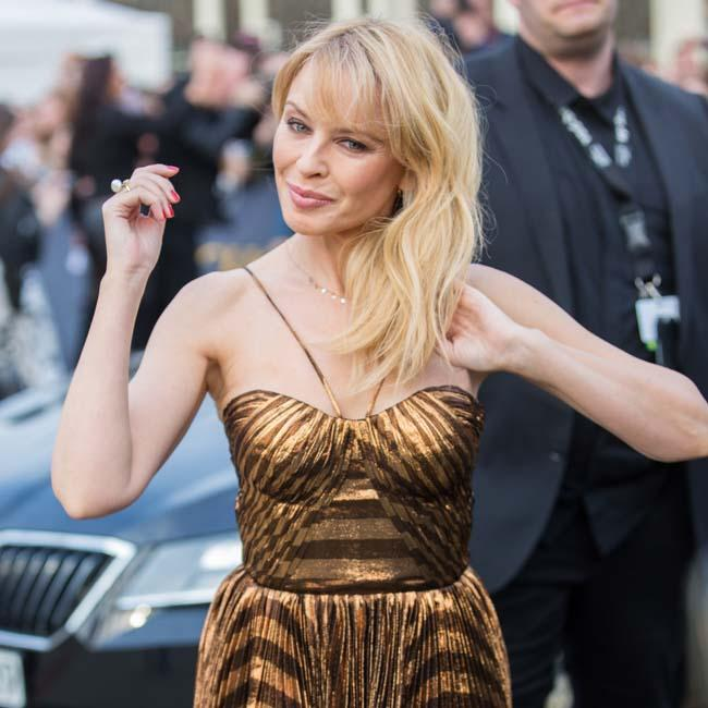 Kylie Minogue feels more content at 50