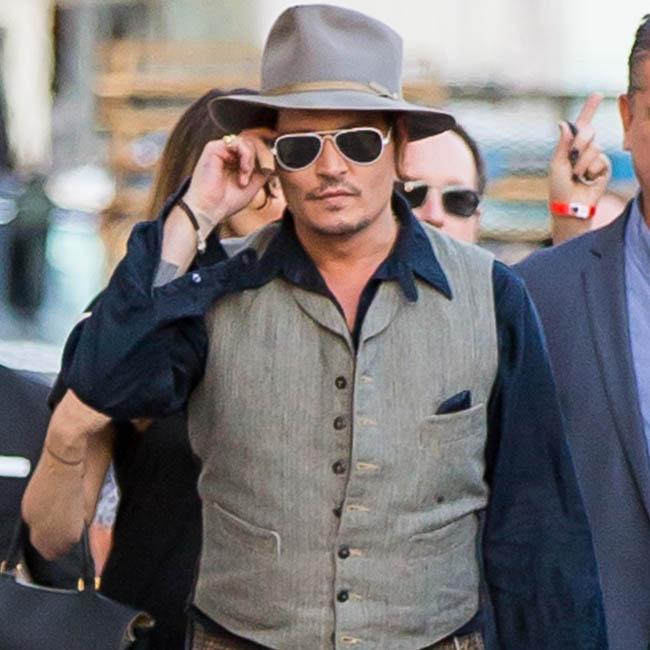 Johnny Depp gets depressed after filming