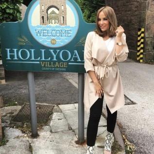 Stephanie Davis is back on Hollyoaks set