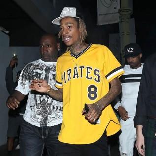 Wiz Khalifa won't bite bananas