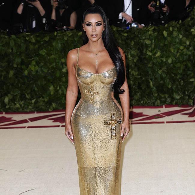 Kim Kardashian West accused of stealing marketing company's logo