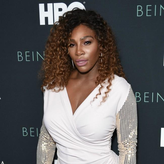 Serena Williams has spent every day with her daughter
