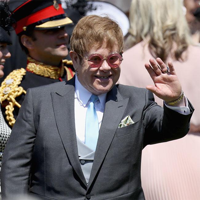 Sir Elton John hails royal wedding 'progress'