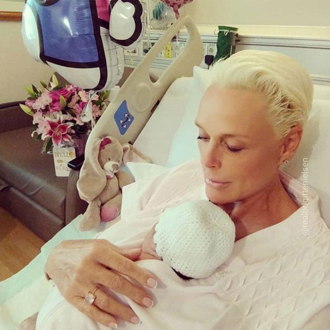 Brigitte Nielsen gushes over baby daughter