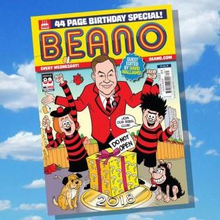 David Walliams is Beano guest editor for 80th birthday