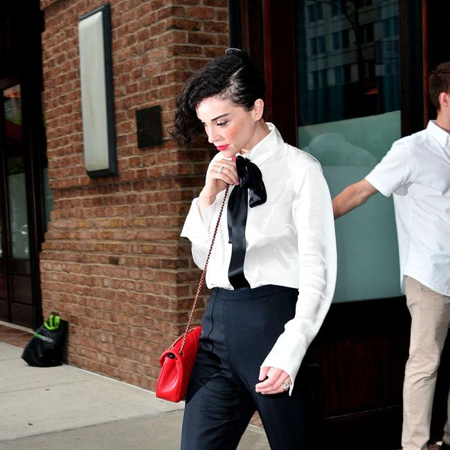 St Vincent mistaken for Lady Gaga