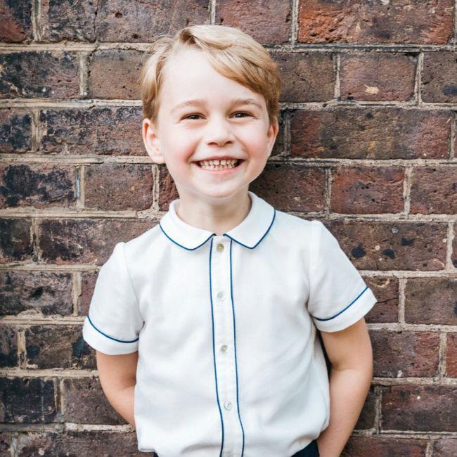 Prince George's new birthday photo