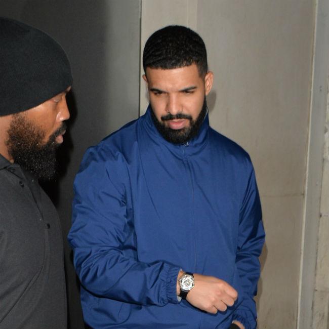 Drake supports ex Serena Williams at Wimbledon